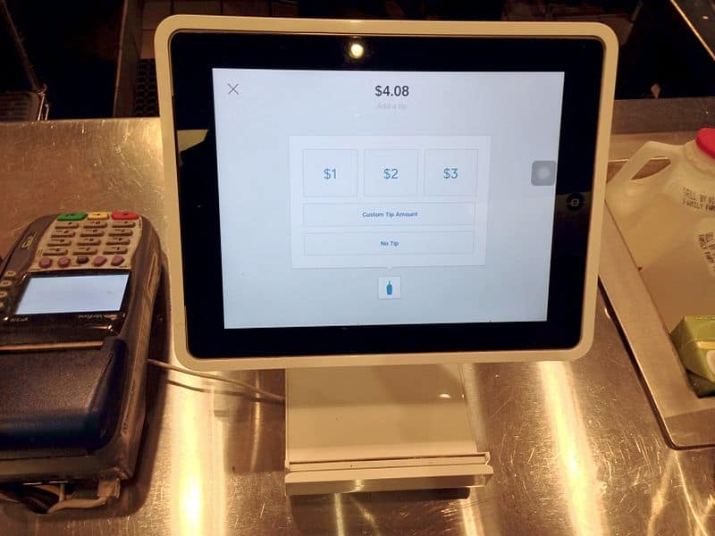 Square Point of sale stand