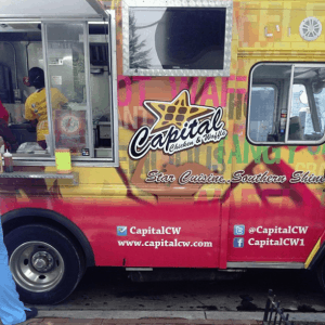 Capital Chicken and Waffles food truck